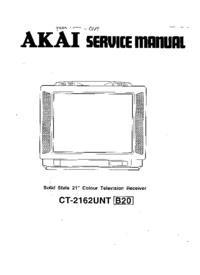Schema Akai CT-2162
