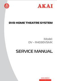 Instrukcja serwisowa Akai DV - R4030VSMK