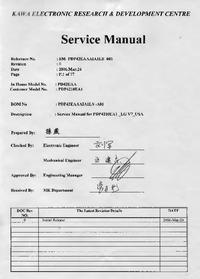 Servicehandboek Akai PDP4210EA1