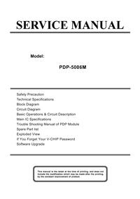 Instrukcja serwisowa Akai PDP-5006M
