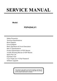 Instrukcja serwisowa Akai PDP4294LV1