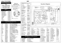 Руководство по техническому обслуживанию Akai VS-G2200