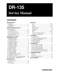 Service Manual Alinco DR-135