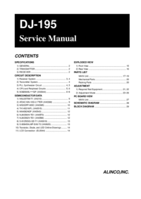 Alinco-548-Manual-Page-1-Picture