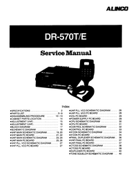 Manual de servicio Alinco DR-570E