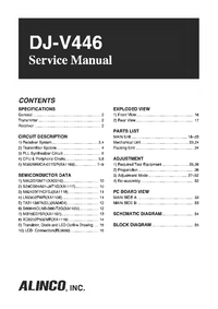 Service Manual Alinco DJ-V446