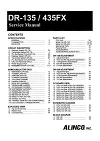 Manual de servicio Alinco 435FX