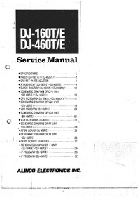 Service Manual Alinco DJ-160E