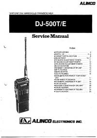 Instrukcja serwisowa Alinco DJ-500T