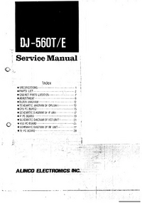 Servicehandboek Alinco DJ-560E