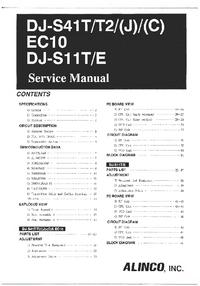 Manual de serviço Alinco DJ-S41 (J)