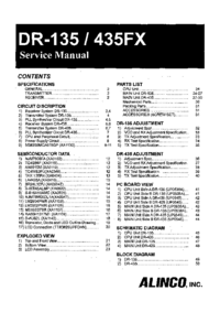 Service Manual Alinco DR-435FX
