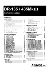 Service Manual Alinco DR-435MKIII
