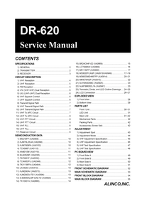 Service Manual Alinco DR-620