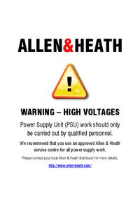 Руководство по техническому обслуживанию Allen WZ20S