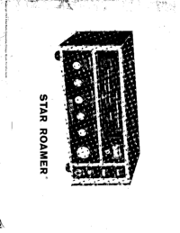 Обслуживание и Руководство пользователя AlliedRadio Star Roamer