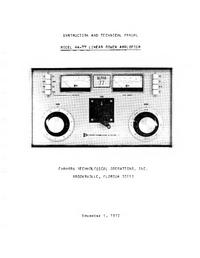 Servicio y Manual del usuario Alpha Alpha 77