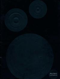 Catálogo Altec XXXX