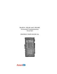 Manual del usuario Ameritec AM-48