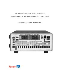 Manual del usuario Ameritec AM5eXT