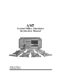 Bedienungsanleitung Ameritec AM7