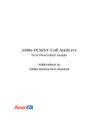 Manual del usuario Ameritec AM8e