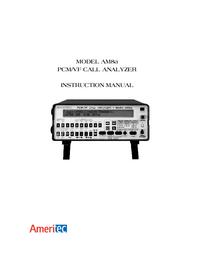 Bedienungsanleitung Ameritec AM8a