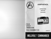 Serwis i User Manual Amphenol Model 870 Millivolt Commander
