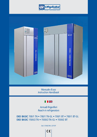 User Manual Angelantoni EKO BASIC 700/1 TN