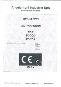 User Manual Angelantoni H 36 B