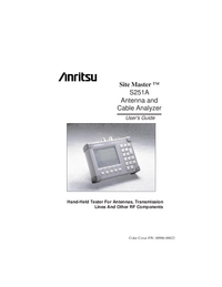 Anritsu-9670-Manual-Page-1-Picture