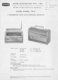 Service Manual Astor P2A