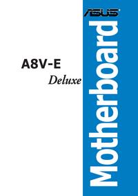 Gebruikershandleiding Asus A8V-E Deluxe