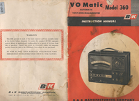 Service and User Manual BK VO Matic 360