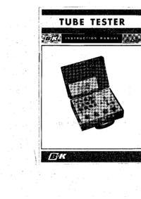 Service-en gebruikershandleiding BK 606