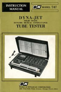 Manual do Usuário BK 747