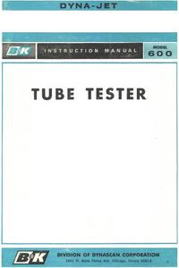 Manual do Usuário BK 600