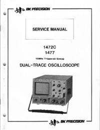 Manual de serviço BKPrecision 1477