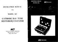 Service- und Bedienungsanleitung BKPrecision 467