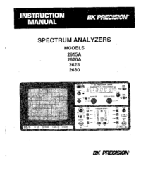 BKPrecision-8526-Manual-Page-1-Picture