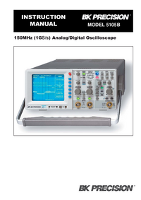 Manual del usuario BKPrecision 5105B
