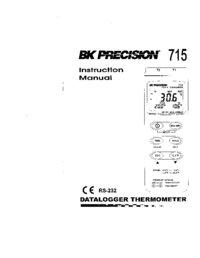 Manuale d'uso BKPrecision 715
