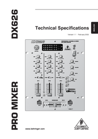Behringer-8330-Manual-Page-1-Picture