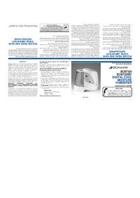 Instrukcja obsługi Bionaire BCM7305
