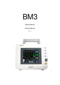 Руководство по техническому обслуживанию Bionet BM3