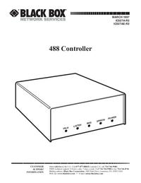 Manual do Usuário Black_Box 488 Controller