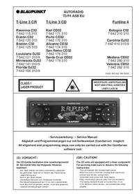 Manual de servicio Blaupunkt Valencia CD52
