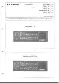 Service Manual Blaupunkt Oslo RCC 24