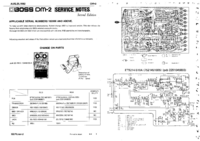Manual de servicio Boss DM-2