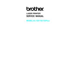 Manual de serviço Brother HL-730Plus